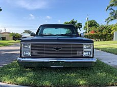 1987 Chevrolet C/K Truck 2WD Regular Cab 1500 for sale 101008042